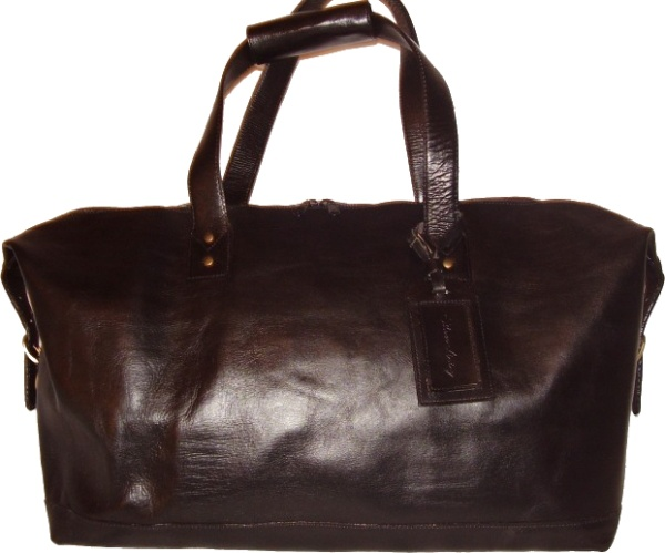 H5 - Leather Weekender