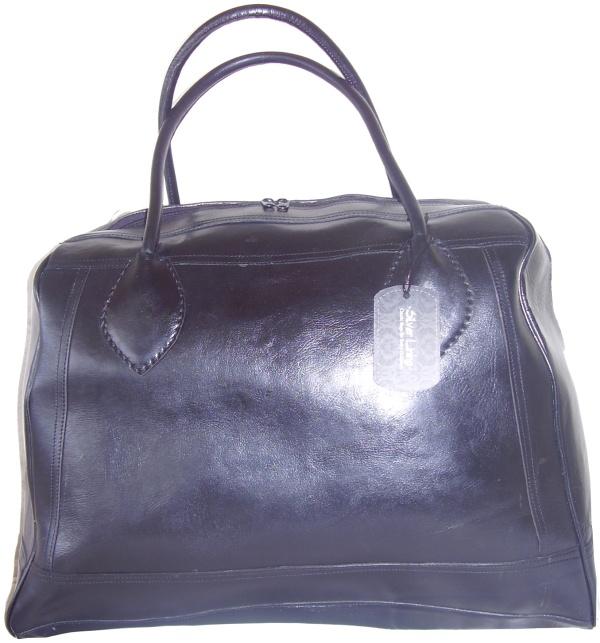 w26a - Leather elephant bag